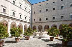 Montecassino修道院 库存图片