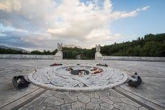Montecassino的波兰公墓 图库摄影