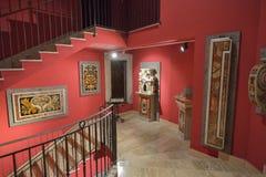 Montecassino,意大利- 2016年6月01日:修道院的博物馆的内部Montecassino的,意大利 免版税图库摄影