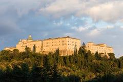 montecassino της Ιταλίας cassino αβαείων Στοκ Φωτογραφία