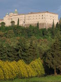 Montecassino Abbey, Cassino, Italy. royalty free stock images