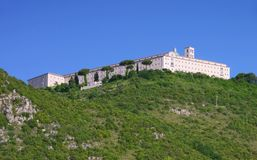 Montecassino Royalty Free Stock Photo