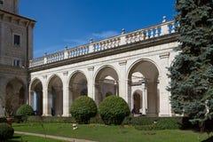Montecassino Abbey Italy Imagen de archivo libre de regalías
