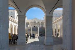 Montecassino Abbey Italy Imágenes de archivo libres de regalías