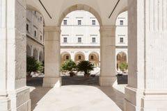 Montecassino Abbey Italy Imagenes de archivo