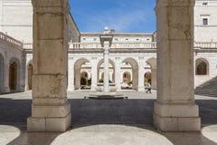 Montecassino Abbey Italy Foto de archivo libre de regalías
