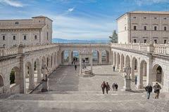 Montecassino Abbey Italy Fotos de archivo libres de regalías