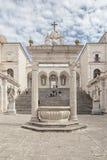 Montecassino Abbey Italy Foto de archivo