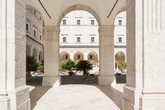 Montecassino Abbey Italy Stock Images