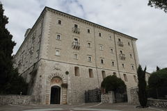 Montecassino Abbey Royalty Free Stock Photo