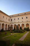 Montecassino Abbey, religious and historic destination in Cassino. Italy Royalty Free Stock Images