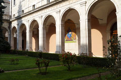 Montecassino garden Stock Photos