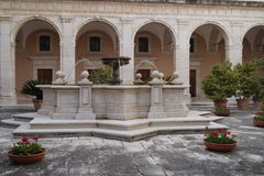 Montecassino-Garten Lizenzfreies Stockbild
