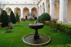 Montecassino-Garten Stockfoto