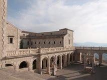 Montecassino-Italien Royaltyfri Bild
