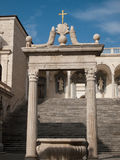 Montecassino-Italy Royalty Free Stock Photos