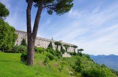 Montecassino royalty free stock photos