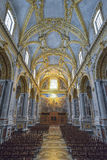 Montecassino, ITALY - JUNE 01, 2016: Interior of the Abbey at Montecassino, Italy Stock Images