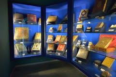 Montecassino WŁOCHY, CZERWIEC, - 01: Wnętrze muzeum opactwo przy Montecassino, Włochy na Czerwu 01, 2016 Zdjęcie Stock