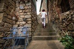 Montecastelli, Пиза, Тоскана - Италия стоковое изображение