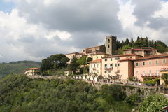 Montecatini女低音,意大利 库存图片