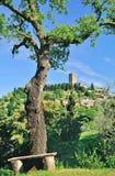 Montecatini κοντά σε Volterra, Τοσκάνη, Ιταλία Στοκ φωτογραφίες με δικαίωμα ελεύθερης χρήσης