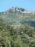 Montecatini alt, Italien royaltyfri bild