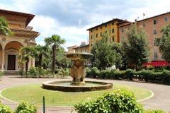 Montecatini Terme city view royalty free stock photo