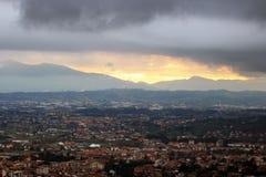 Montecatini Terme, Tuscan Spa town in Italy stock photo