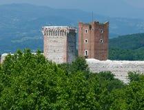 Montecchio Maggiore Vicenza Italia Romeo`s castle Stock Images