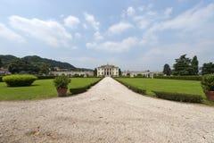 Montecchio Maggiore: Villa Cordellina Lombardi Stock Image
