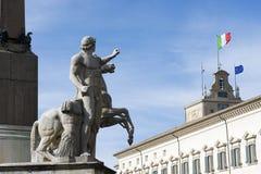 Montecitorio宫殿,议会的家 库存图片