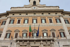 Montecitorio Palace, Royalty Free Stock Images