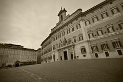 Montecitorio in Rome Royalty Free Stock Photos