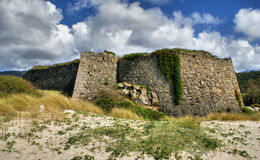 Montedor fortress in Viana do Castelo Stock Image