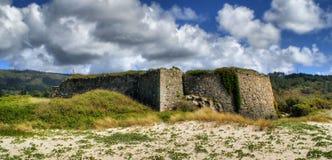 Montedor fortress in Viana do Castelo stock image