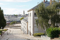 Montee Saint-Maurice staircase in Angers, France Stock Photography