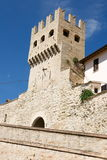 Montefalco tower Royalty Free Stock Photo