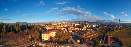 Montefalco Umbria, Italien royaltyfria bilder