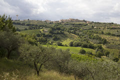 Montefalco royalty free stock images