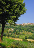 Montefalcone,Umbria Royalty Free Stock Images