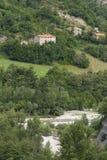 Montefeltro (πορείες, Ιταλία) Στοκ Εικόνες