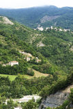 Montefeltro (πορείες, Ιταλία) Στοκ εικόνα με δικαίωμα ελεύθερης χρήσης