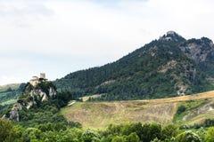 Montefeltro (марты, Италия) Стоковое Изображение RF