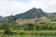 Montefeltro (gränser, Italien) Arkivfoton