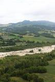 Montefeltro (gränser, Italien) Royaltyfri Fotografi