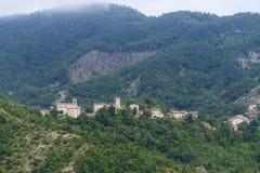 Montefeltro (gränser, Italien) Arkivbild