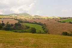 Montefeltro (Märze, Italien), Landschaft Lizenzfreies Stockbild