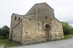 Montefeltro (Marches, Italie) : église médiévale Photo libre de droits