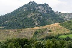 Montefeltro (Marches, Italie) Images libres de droits